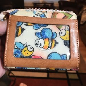 Dooney and Bourke card case
